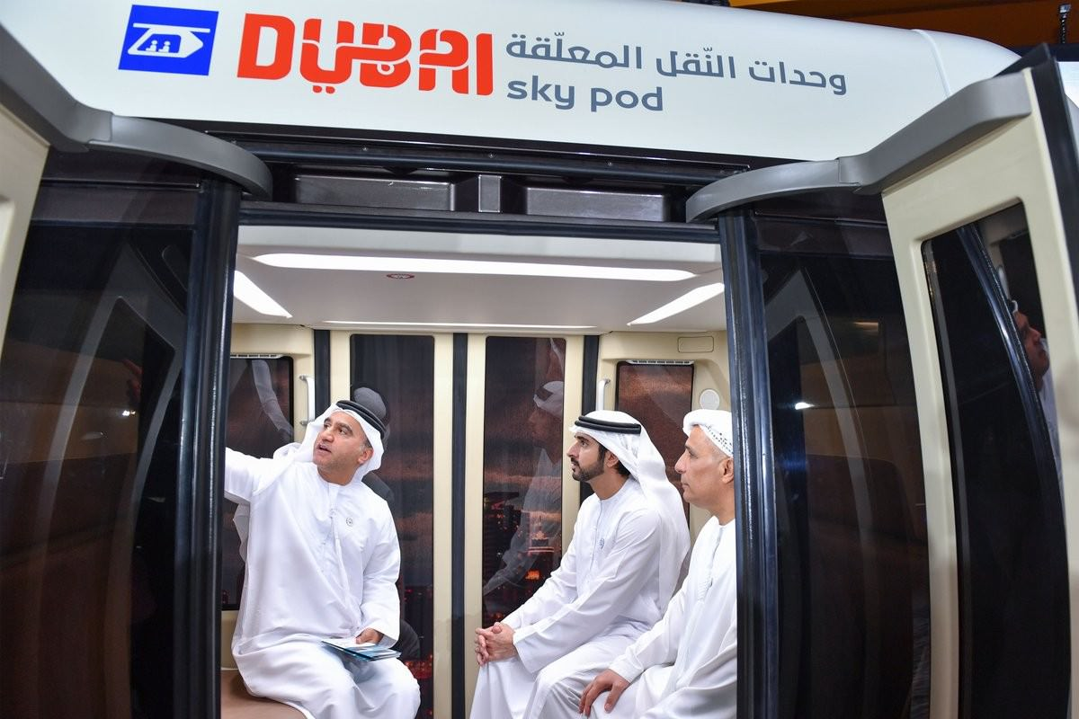 SkyWay Was Presented to the Crown Prince of Dubai and the Emir of Sharjah
